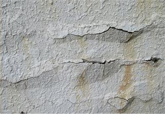 外壁材の 裂