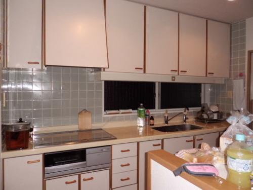 明るく清潔なキッチンリフォーム