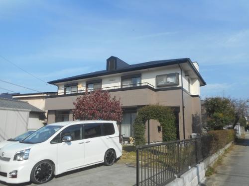2トーンで品のある屋根外壁塗装