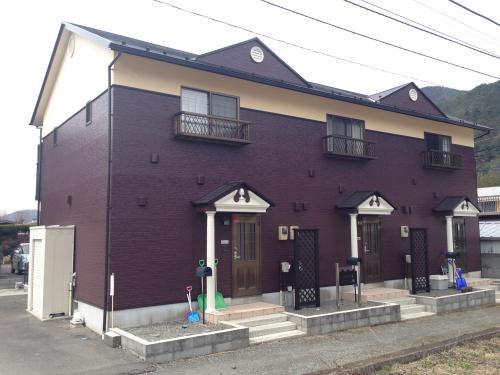 アパート屋根外壁塗装工事