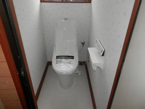 お掃除らくらく トイレ交換工事