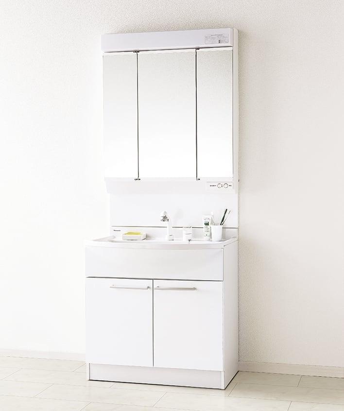 パナソニック 洗面台 W750 Mライン 三面鏡