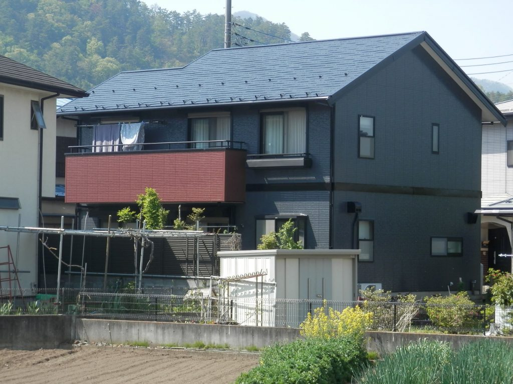 スーパームキコート使用 屋根・外壁塗装工事