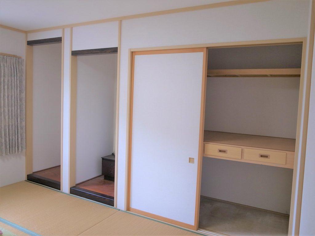和室から洋室に変更のリフォーム工事