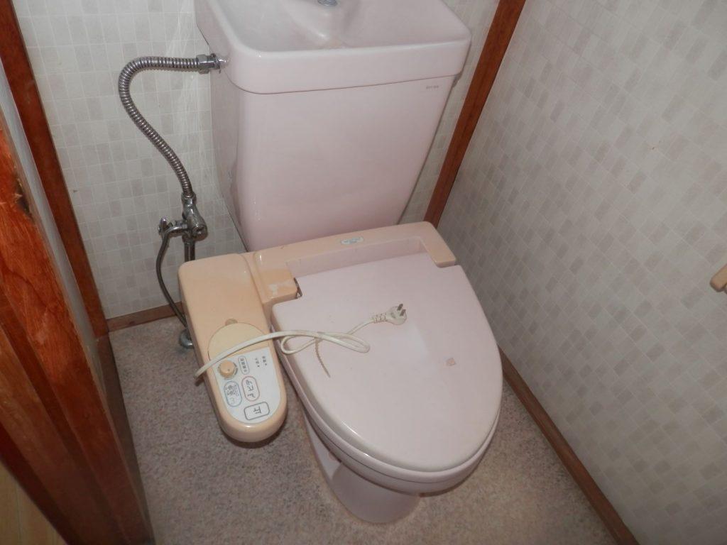 TOTOトイレ交換工事