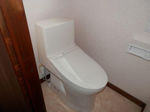 工事は一日で完了♪TOTOトイレ交換